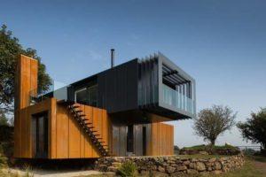 dům z kontejneru