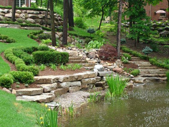 jak vytvořit zahradu ve svahu