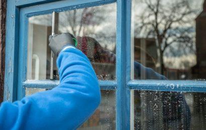 Jak umýt okna během chvilky