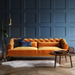 10 tipů na modrý obývací pokoj – Inspirace