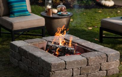 Jak postavit ohniště na zahradě?