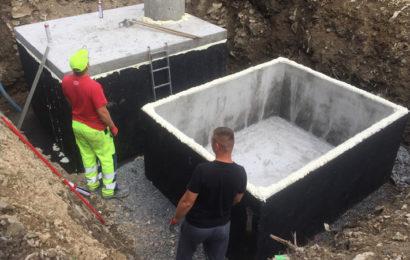 Betonová jímka na dešťovou vodu se stává stále aktuálnější