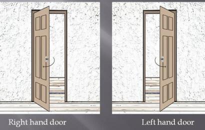 Jak poznat pravé a levé dveře?