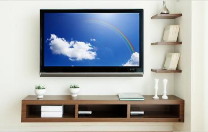 Umístění televize na zeď – doporučená výška a umístění